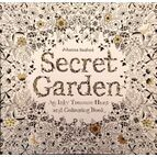 Secret Garden - An Inky Treasure Hunt and Colouring Book
