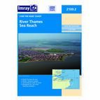 Imray Chart 2100.2 River Thames Sea Reach