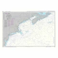 5135 Cape Breton to Delaware Bay Instructional Admiralty Chart