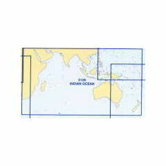 5126 (10) October - Indian Ocean Admiralty Chart