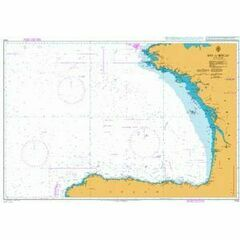 1104 Bay of Biscay Admiralty Chart