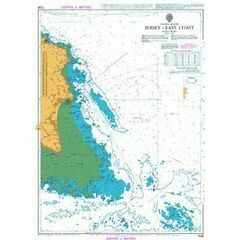 1138 Jersey - East Coast Admiralty Chart