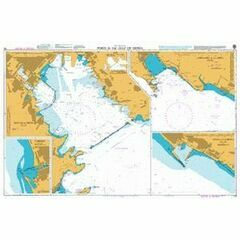 118 Ports in the Gulf of Genoa Admiralty Chart