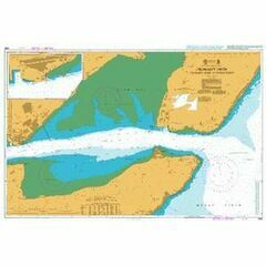 1889 Cromarty Firth: Cromarty Bank to Invergordon Admiralty Chart