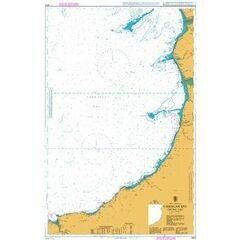 1972 Cardigan Bay - Central Part Admiralty Chart