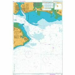 2037 The Solent - Eastern Approaches Admiralty Chart