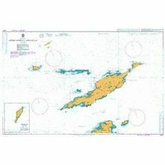 2047 Approaches to Anguilla Admiralty Chart