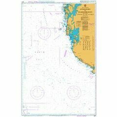 2672 Listafjorden to Selbjornsfjorden including Offshore Oil and Gas Fields Admiralty Chart