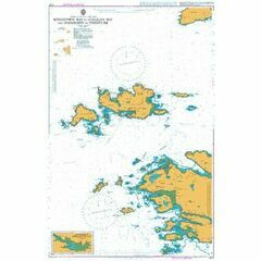 2707 Kingstown Bay to Cleggan Bay and Inishbofin Admiralty Chart