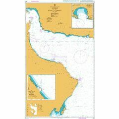 2851 Masirah to the Strait of Hormuz Admiralty Chart