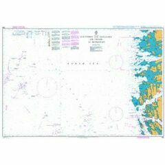299 Statfjord and Gullfaks Oil Fields to Mongstad Admiralty Chart