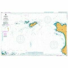 3653 Guernsey to Alderney & adjacent coast of France Admiralty Chart