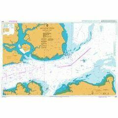 3831 Singapore Strait Eastern Part Admiralty Chart
