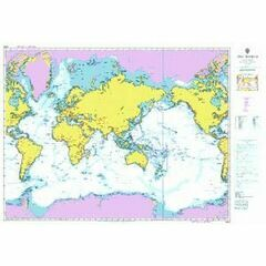 4000 The WORLD - Broad Scale Admiralty Chart