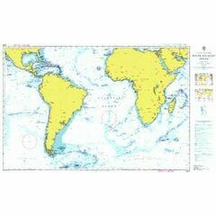 4003 South Atlantic Ocean Admiralty Chart