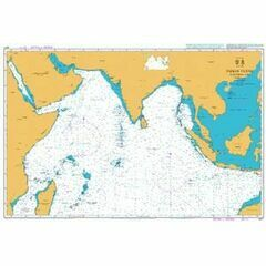 4071 Indian Ocean - Northern Part Admiralty Chart