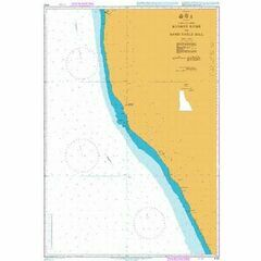 4132 Angola & Namimbia,Kunene River to Sand table Hill Admiralty Chart