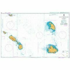 584 Saint Barthelemy to Antigua Admiralty Chart