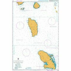 594 Southern Guadeloupe to Northern Martinique Admiralty Chart