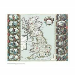 The British Isles ARC 5521 Admiralty Collection Archive Chart