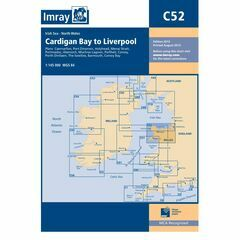 Imray Nautical Chart C52 Cardigan Bay to Liverpool