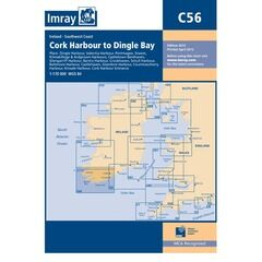 Imray Chart C56 Cork Harbour to Dingle Bay