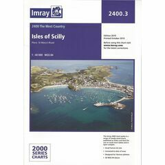 Imray Chart 2400.3 Isles of Scilly
