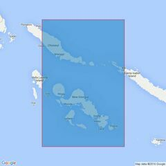 3995 Choiseul Island to New Georgia Island Admiralty Chart