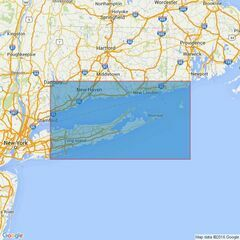 2754 Fire Island Inlet to Block Island Sound including Long Island Sound Admiralty Chart