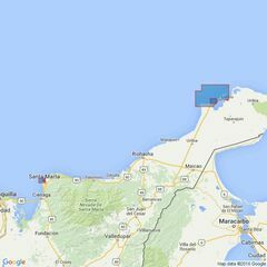 2267 Ports on the North Coast of Colombia Admiralty Chart