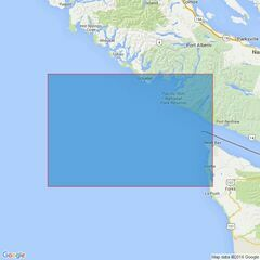 4945 Approaches to/Approches a Juan de Fuca Strait Admiralty Chart