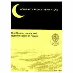 NP264 Admiralty Tidal Stream Atlas of The Channel Islands and Adjacent Coasts of France.