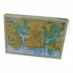 Portsmouth and Langstone Harbours Chart 1000 Piece Admiralty Jigsaw