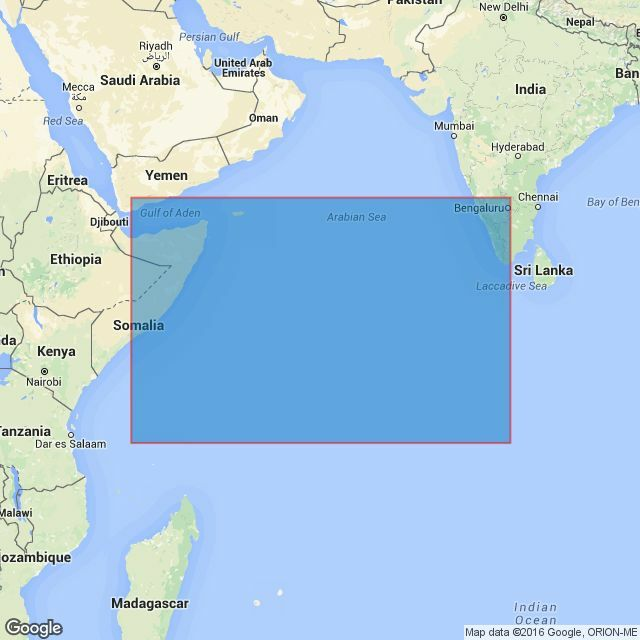 4703 Gulf of Aden to the Maldives and Seychelles Group Admiralty