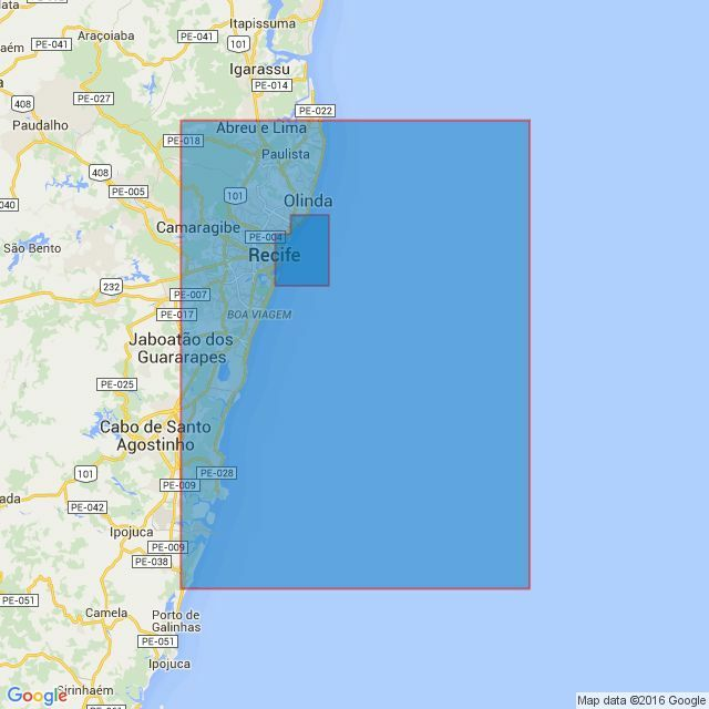 Recife And Approaches Admiralty Chart Only - Cabo de santo agostinho map