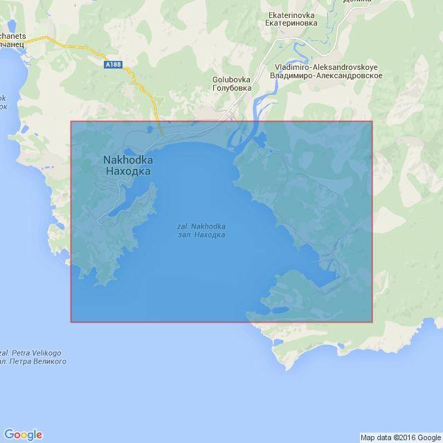 Zaliv Nakhodka Admiralty Chart Only - Nakhodka map