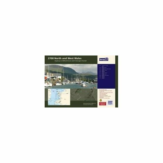Imray 2700 North and West Wales Chart Pack
