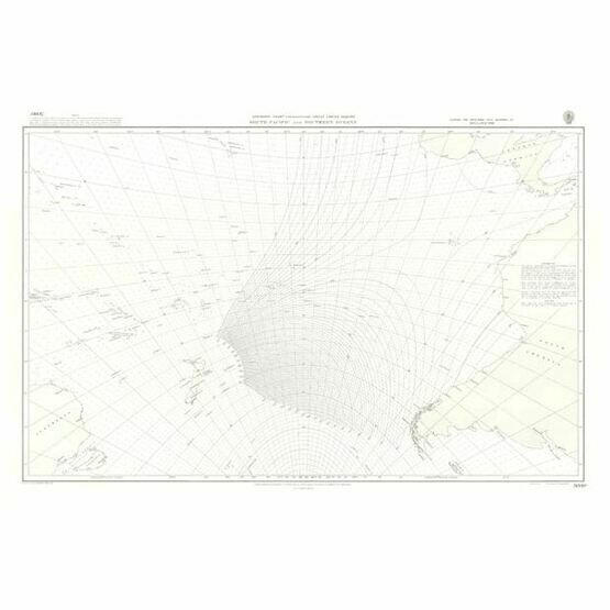 5098a  South Pacific and Southern Oceans Admiralty Chart