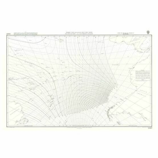 5098b  South Pacific and Southern Oceans Admiralty Chart