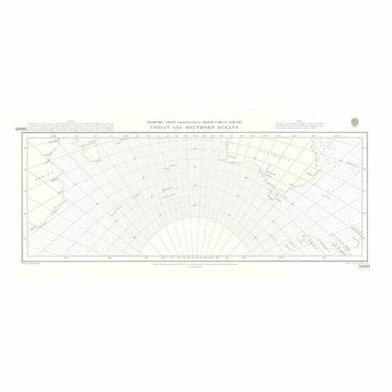 5099  Indian and Southern Oceans Admiralty Chart