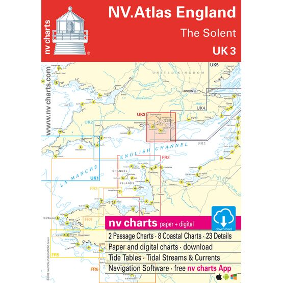 UK3 - The Solent Chart Atlas