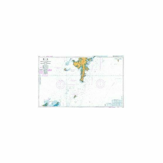 1119 Orkney & Shetland Islands Fair Isle Channel Admiralty Chart ...