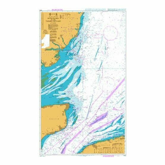 1610 Approaches to the Thames Estuary Admiralty Chart