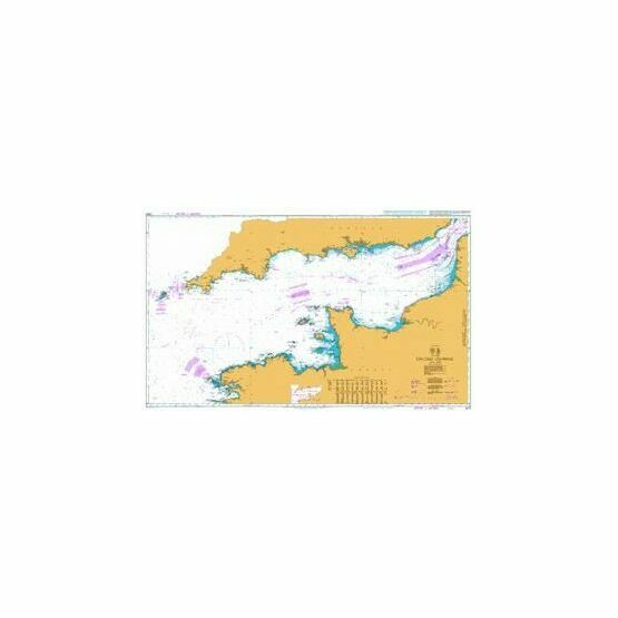 2675 English Channel Admiralty Chart