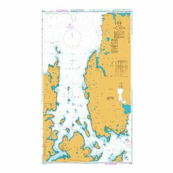 3298 Yell Sound Admiralty Chart