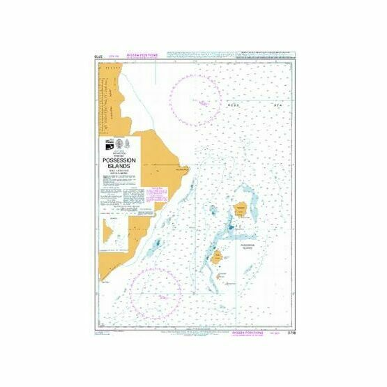 3716 Possession Islands Admiralty Chart