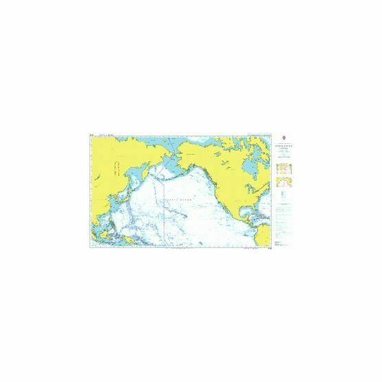 4008 North Pacific Ocean - Admiralty Chart