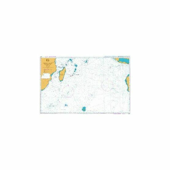 4070 Indian Ocean - Southern Part Admiralty Chart