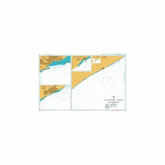 671 Outer Approaches to Muqdisho and Marka Anchorage Admiralty Chart