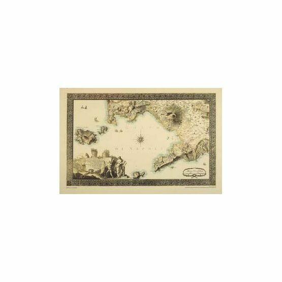 The Gulf of Naples ARC 5455 Admiralty Collection Archive Chart